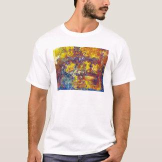 The Japanese Bridge Claude Monet T-Shirt