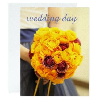 The Japanese definite form size wedding invitation
