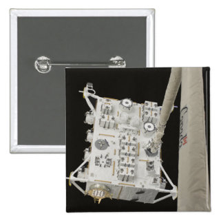 The Japanese Experiment Module Exposed Facility 2 2 Inch Square Button