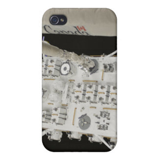 The Japanese Experiment Module Exposed Facility 2 iPhone 4 Cover