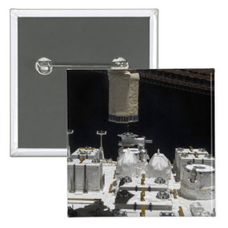The Japanese Experiment Module Exposed Facility 2 Inch Square Button
