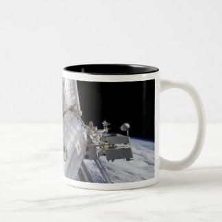 The Japanese Experiment Module Kibo laboratory Two-Tone Coffee Mug
