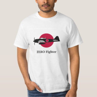 The Japanese flag and Zero fighter T-Shirt