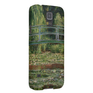 The Japanese Footbridge and the Water Lily Pool Galaxy S5 Case