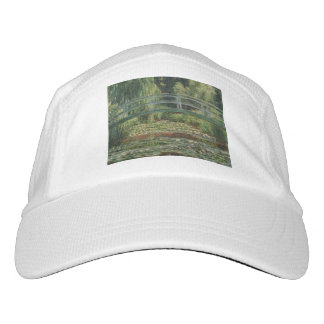The Japanese Footbridge and the Water Lily Pool Headsweats Hat