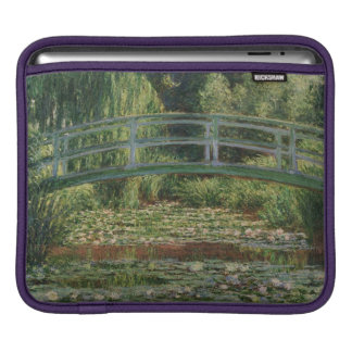 The Japanese Footbridge and the Water Lily Pool iPad Sleeve