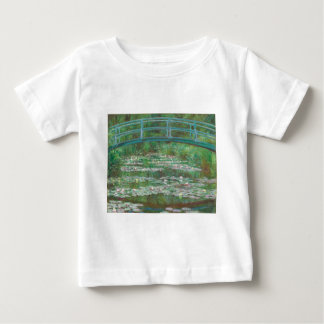 The Japanese Footbridge by Claude Monet Baby T-Shirt