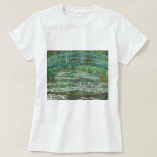 The Japanese Footbridge by Claude Monet T-Shirt