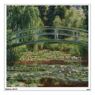 The Japanese Footbridge by Claude Monet Wall Decor