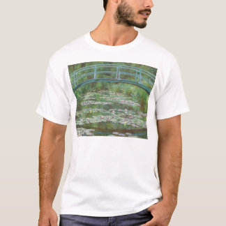 The Japanese Footbridge by Monet (1899) T-Shirt