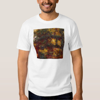 The Japanese Footbridge, Giverny by Claude Monet T Shirt