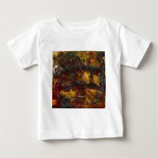 The Japanese Footbridge, Giverny by Claude Monet T-shirt