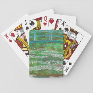The Japanese Footbridge Playing Cards