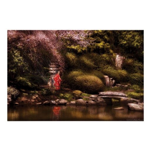The Japanese Garden Posters