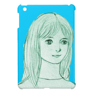 The Japanese girl manga iPad Mini Cases