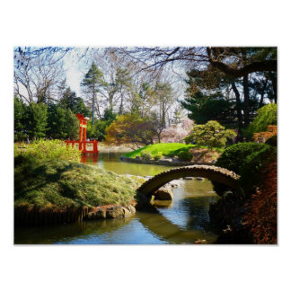 The Japanese Hill and Pond Garden, Small Poster