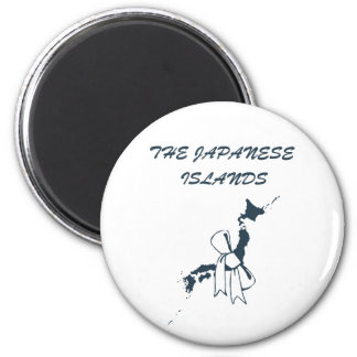 The Japanese Islands Magnet