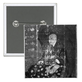 The Japanese priest Jitchin Pinback Button