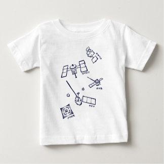 < The Japanese probe - kana (indigo) > Space probe Tshirt