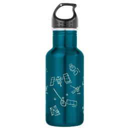 < The Japanese probe - kana (to become raw,) > Spa Water Bottle