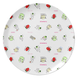 The Japanese radish of the non agricultural chemic Dinner Plates