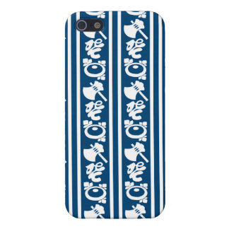 The Japanese traditional pattern ax koto chrysanth iPhone 5 Case