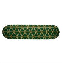 The Japanese traditional pattern Bishamon tortoise Skateboard