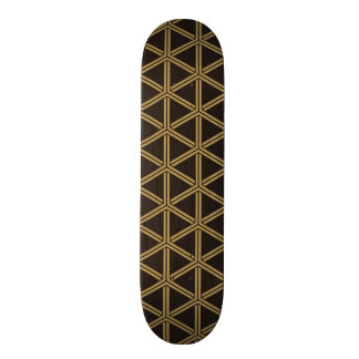 The Japanese traditional pattern Bishamon tortoise Skateboard Deck