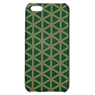 The Japanese traditional pattern group tortoise sh Cover For iPhone 5C