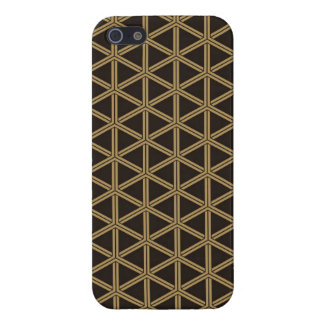 The Japanese traditional pattern group tortoise sh Cover For iPhone SE/5/5s