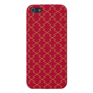 The Japanese traditional pattern pine skin water iPhone SE/5/5s Cover
