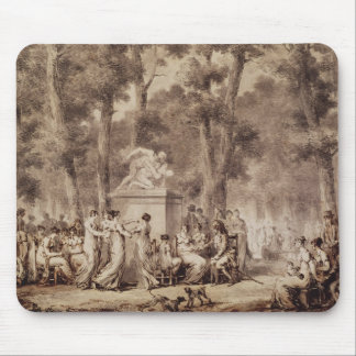 The Jardin des Tuileries in 1808 Mouse Pad