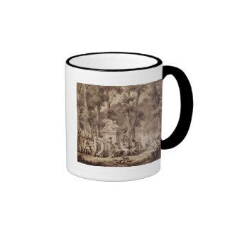 The Jardin des Tuileries in 1808 Ringer Coffee Mug