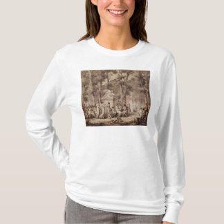 The Jardin des Tuileries in 1808 T-Shirt