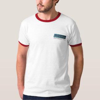 The Javelin Thrower Back Ringer T-Shirts