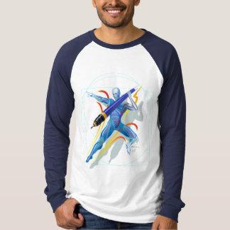 The Javelin Thrower M Long Sleeve Raglan Shirts