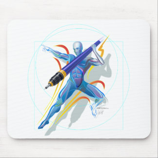 The Javelin Thrower Mouse Pad