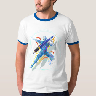 The Javelin Thrower Ringer T-Shirts