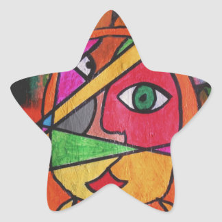 The Javelin Thrower Star Sticker