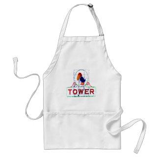 The Jayhawk Tower Adult Apron