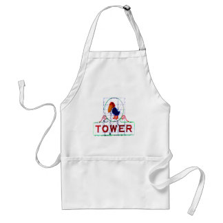 The Jayhawk Tower Aprons