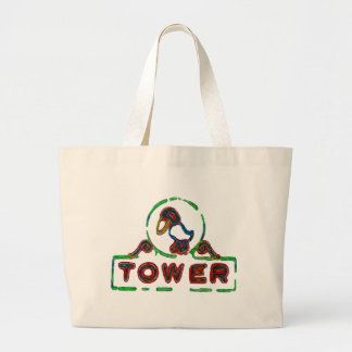 The Jayhawk Tower Tote Bags