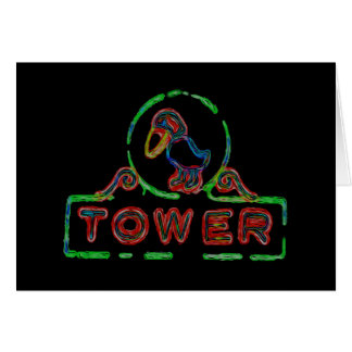The Jayhawk Tower Card