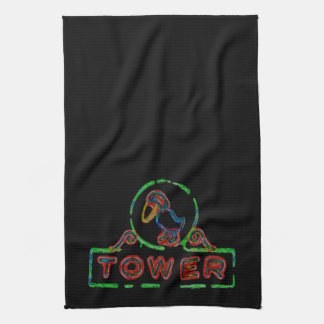 The Jayhawk Tower Kitchen Towel