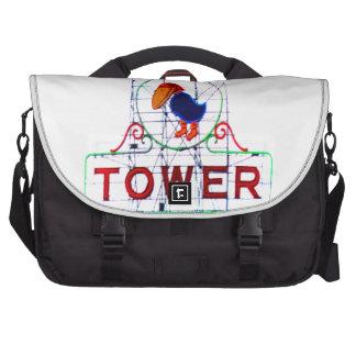 The Jayhawk Tower Laptop Messenger Bag