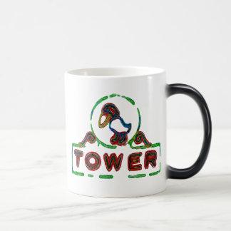 The Jayhawk Tower 11 Oz Magic Heat Color-Changing Coffee Mug