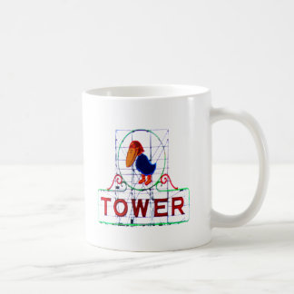 The Jayhawk Tower Classic White Coffee Mug