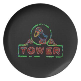The Jayhawk Tower Plates