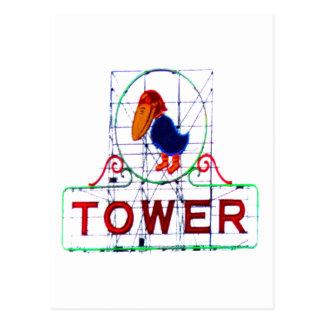 The Jayhawk Tower Postcard