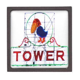 The Jayhawk Tower Premium Jewelry Box